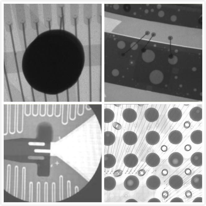 X射线下的BGA焊点工艺检测