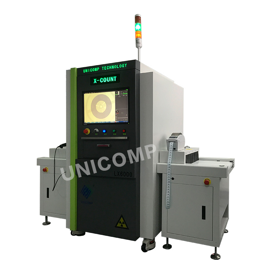 In-line X-ray Chip Counter LX6000