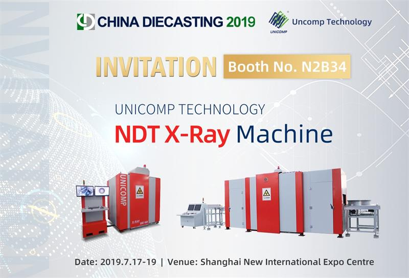 Welcome to Visit Unicomp at the China Die-casting 2019 Expo