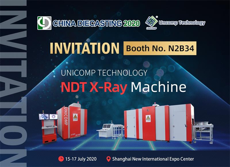 Exploring X-ray ADR Technology with Unicomp & Yxlon at China Die-casting 2020 Expo