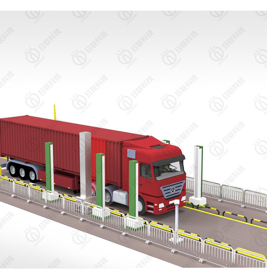 UNL500A绿色通道车辆快速检测系统