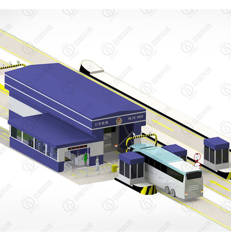 UNX6018 一站式警用检查系统