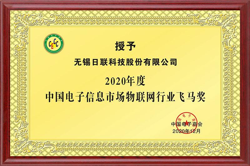 中国电子信息市场物联网行业飞马奖